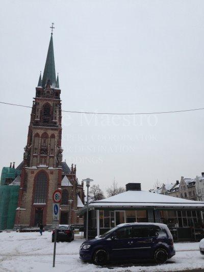 デュッセルドルフ冬