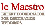 ヨーロッパ専門海外ウェディング le Maestro(ル・マエストロ)