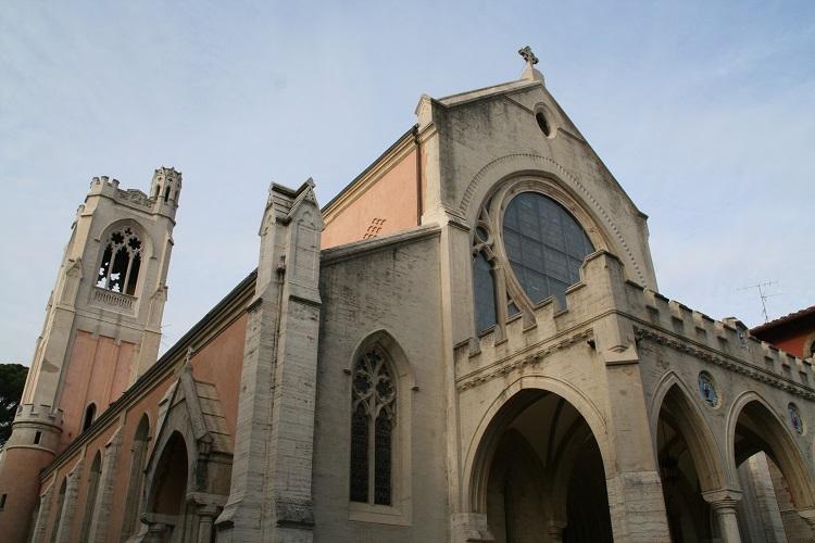 イタリア フィレンツェ セントジェームス教会1