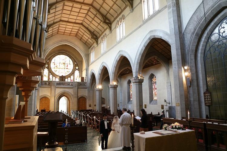 イタリア フィレンツェ セントジェームス教会7