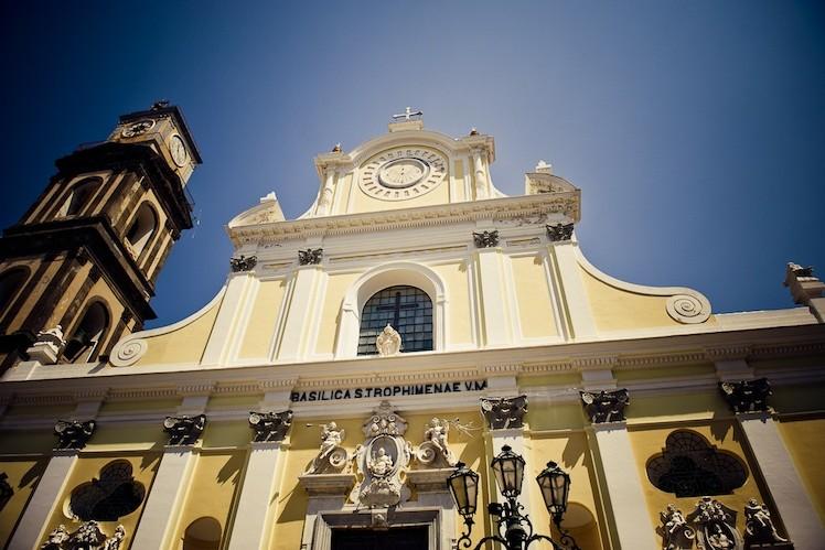 イタリア アマルフィ トロフィメナ教会