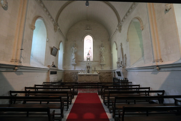 フランス ロワール レイニャック城1