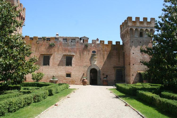 イタリア フィレンツェ オリヴェート城1