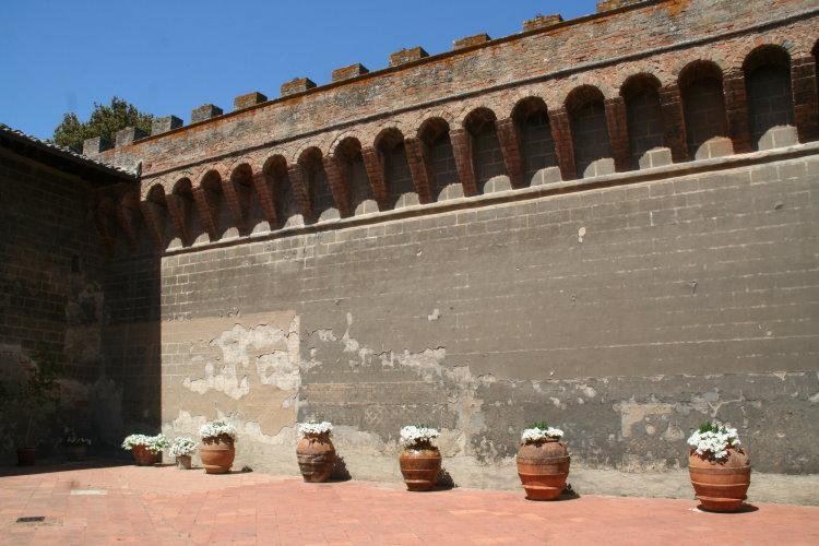 イタリア フィレンツェ オリヴェート城5