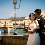 Wedding Ceremony at St. James Church, Firenze in Italy