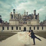 Wedding Ceremony at Chateau de Reignac in Loire Valley, France