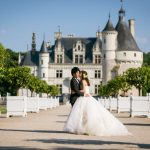 Wedding Ceremony at Chateau de Reignac, Loire Valley in France