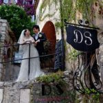 Wedding Ceremony at Chevre d'Or in Eze, France
