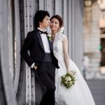 Wedding Ceremony at American Cathedral in Paris, France