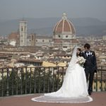 Wedding Ceremony at St. James Church in Firenze, Italy