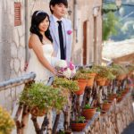 Wedding Ceremony at Designer's Hotel in Mallorca island, Spain