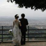 Wedding Ceremony at Villa la Vedetta, Firenze in Italy