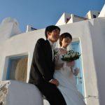 Wedding Ceremony at Andronis Luxury Suites in Santorini, Greece