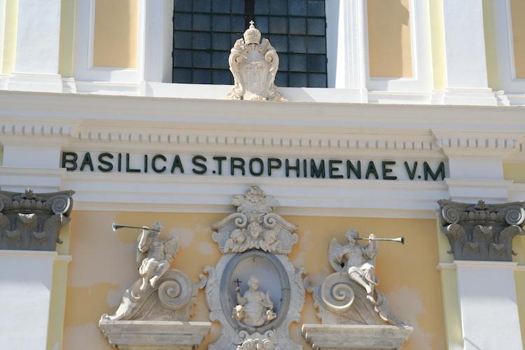 イタリア アマルフィ トロフィメナ教会2