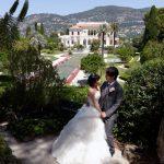Wedding Ceremony at Villa Rothschild in Cote d'Azur, France