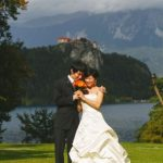 Wedding Ceremony at St. Mary Church, Bled Lake in Slovenia