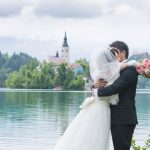 Wedding Ceremony at St. Mary Church, Lake Bled in Slovenia