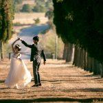 Wedding Ceremony at Locanda dell' Amorosa, Italy