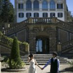 Wedding Ceremony at Villa le Piazzole in Firenze, Italy