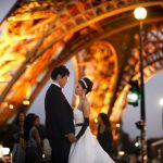 Wedding Ceremony at American Church in Paris, France
