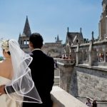 Wedding Ceremony at Buda Castle in Budapest, Hungary
