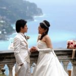Wedding Ceremony at Santa Trofimena Church in Amalfi, Italy
