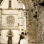 Wedding Ceremony at Antique Chapel near Paris, France