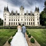 Wedding Ceremony at Chateau de Challain in Loire Valley, France