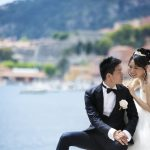 Wedding Ceremony at Ville Rothschild in Cote d'Azur, France