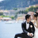 Wedding Ceremony at Ville Rothschild in Cote d'Azur, France