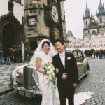 Wedding Ceremony at St. Nicholas Church, Prague in Czech
