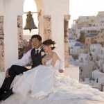 Wedding Ceremony at Andronis Luxury Suites in Santorini, Greece