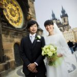 Wedding Ceremony at St. Nicholas Church in Prague, Czech