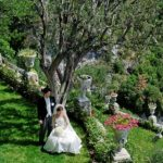 Wedding Ceremony at Chateau de Chevre d'Or, Eze in France