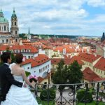 Wedding Ceremony at St. Nichlas Church in Prague, Czech