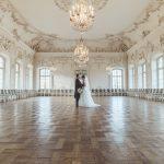ラトビア・ルンダーレ宮殿での挙式
